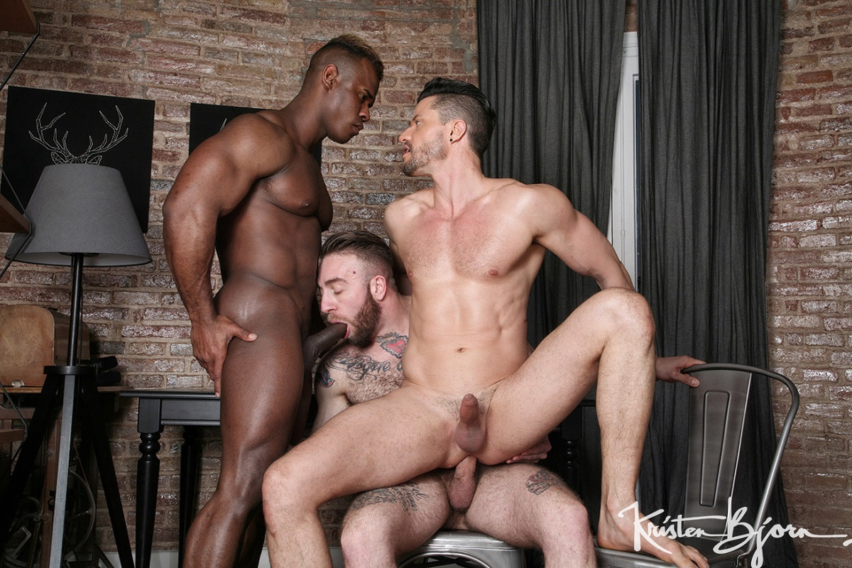 KristenBjorn: Behind The Scenes: Born For Porn – Kris de Fabio, Ridder Rivera, Manuel Scalco
